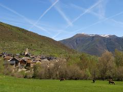 catalan pyrenees - stock photo