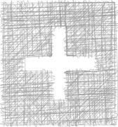 Freehand symbol Stock Illustration