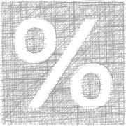 freehand symbol - stock illustration