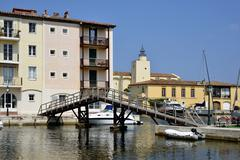 Port Grimaud in France Stock Photos