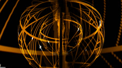 Spiderweb Globe Warp - stock footage