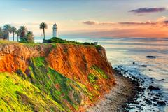Stock Photo of Point Vicente Lighthouse