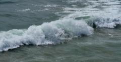 4K Ocean Waves 07 Venice Beach California Stock Footage