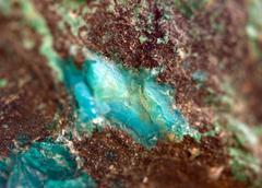 Crystals. extreme closeup Stock Photos