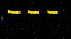Stock Video Footage of Running Man Tri Tube