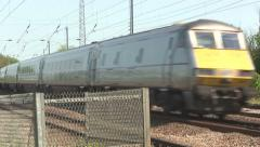 High speed electric train. Stock Footage