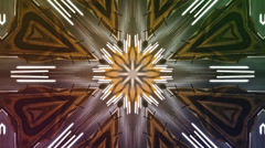 Kaleidoscope lights Stock Footage
