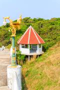 pavilion wayside - stock photo