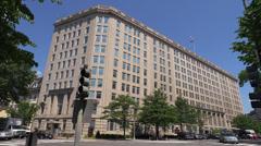 Department of Veteran Affairs, VA, headquarters building, Washington - stock footage