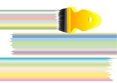 Pastel colours Stock Illustration