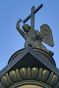 Stock Photo of Angel atop the Alexander Column