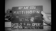 Hand holding Matterhorn scene 10 sign board Stock Footage