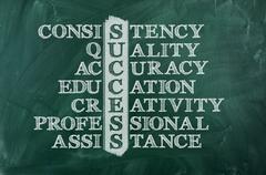 success - stock illustration