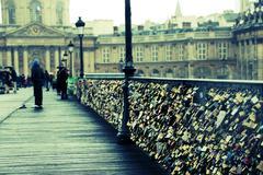 Pont des Arts, Paris - stock photo