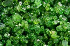 crystal. extreme closeup - stock photo