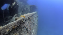 World war 2 shipwreck - SS Thistlegorm - 25fps Stock Footage