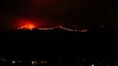 California Wild Fires 2014 Stock Footage