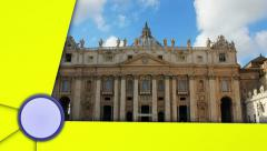 Rome, Italy, with Alpha Channel Last Media Stock Footage