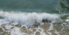 4K Ocean Waves 14 Venice Beach California Stock Footage