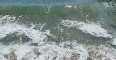 4K Ocean Waves 15 Venice Beach California Stock Footage