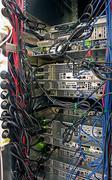 Palvelimen telineeseen klusteri datakeskuksen Kuvituskuvat
