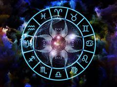 Astrology Composition - stock illustration