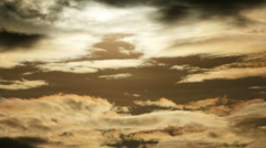 Sunset clouds. sky cloud. cloudscape. 4K background Stock Footage