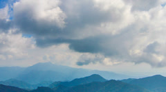4k cloud timelapse genting zoom out Stock Footage