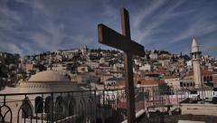 CITY OF NAZARETH Stock Footage