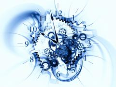 Crunch time Stock Illustration