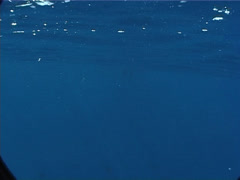 Ocean Scenery | Boat | Exit Shot Stock Footage