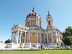 Stock Photo of Basilica di Superga, Turin, Italy