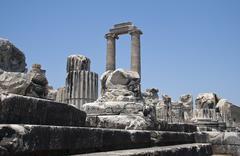 Temple of Apollo - stock photo