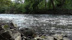 Mountain River Flow Stock Footage