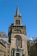 Aachen Cathedral - stock photo