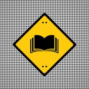 book sign - stock illustration