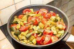 mediterranean cuisine - stock photo