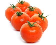 Arrangement of Fresh Tomatoes Stock Photos