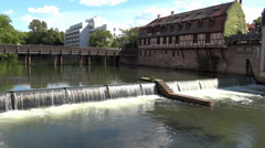 Nuremberg, Street View, Bavaria, Germany (POV3) - stock footage