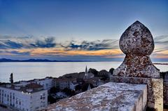 Lookout tower in zadar Stock Photos