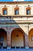 Arhitecture from Urbino - stock photo