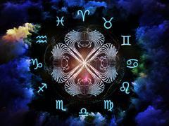 Astrology Composition Stock Illustration