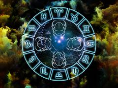 Astrology Abstraction Stock Illustration