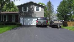 Houses, Homes, Residential Neighborhoods - stock footage