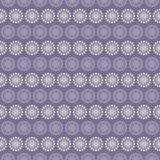 Lilac vector seamless pattern (with square swatch). Endless text Stock Illustration