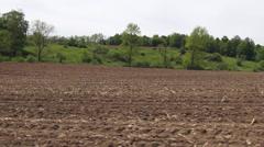 Unplowed Field, Farms, Farmland, Agriculture, Food Stock Footage