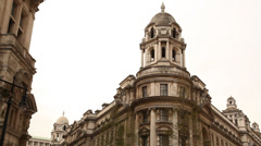 Whitehall Court Building Stock Footage