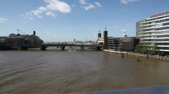 Thames Stock Footage
