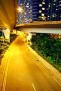 Stock Photo of urban area at night