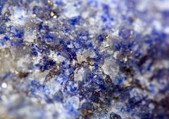 Abstract  background.  blue crystals. macro Stock Photos